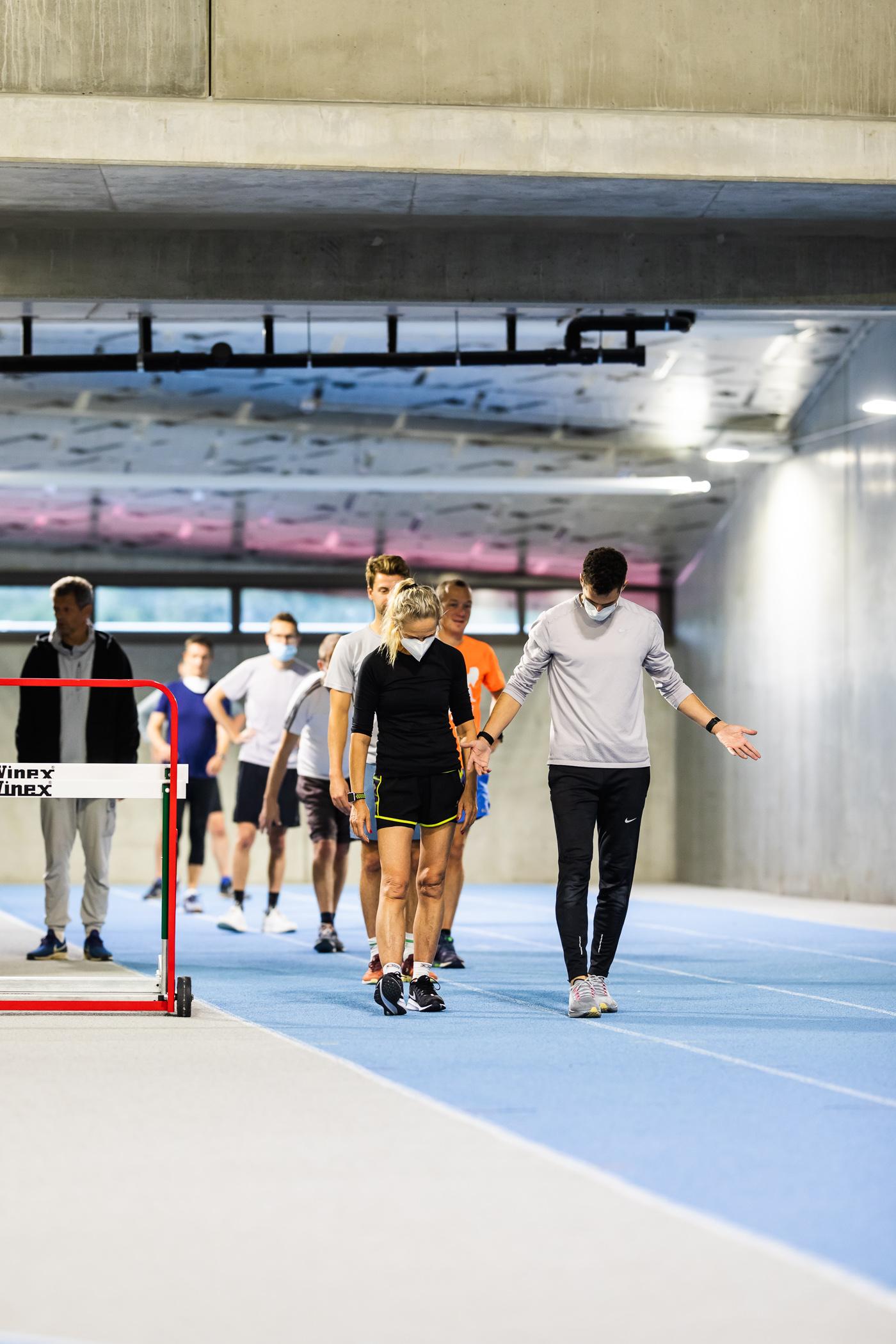 Training Borlée